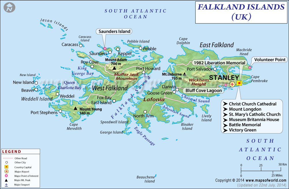 a history of the falkland islands in south america Our falkland islands holidays present a remote archipelago of wild beauty, history and abundant bird and animal life book with journey latin america.